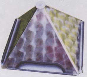 Pyramide als Strahlenschutz
