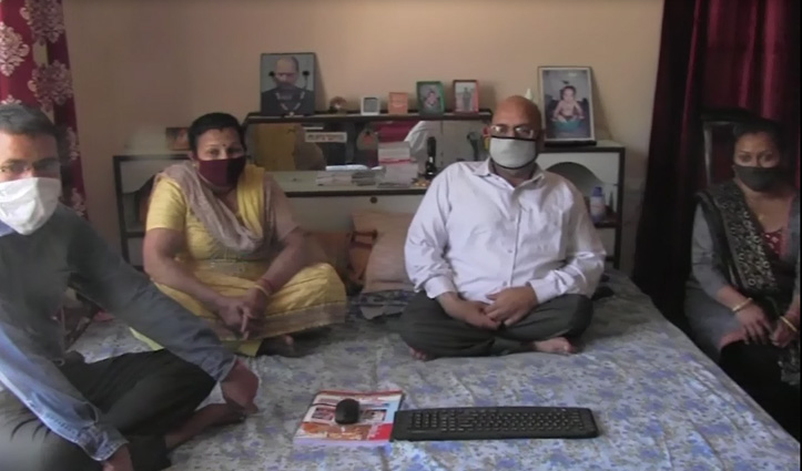 कोरोना काल में मिसालः अकेला दूल्हा गया दुल्हन लाने, माता-पिता ने वर्चुअली दिया  आशीर्वाद