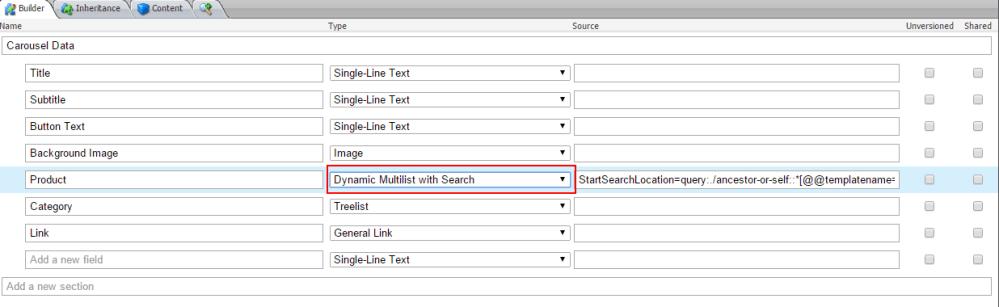 Dynamic Multilist with Search (2/2)