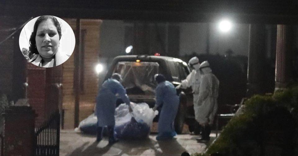 मृतक महिलाका श्रीमान् भन्छन्- टिचिङमै रहँदा उनलाई भाइरस सरेको हुनुपर्छ