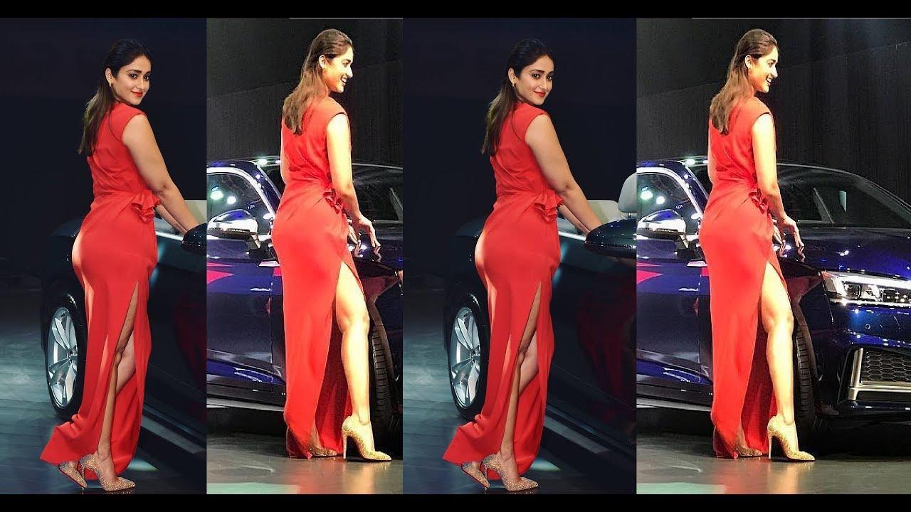 'रेड ड्रेस'मा इलियानाका फरक 'लुक' [फोटो फिचर]