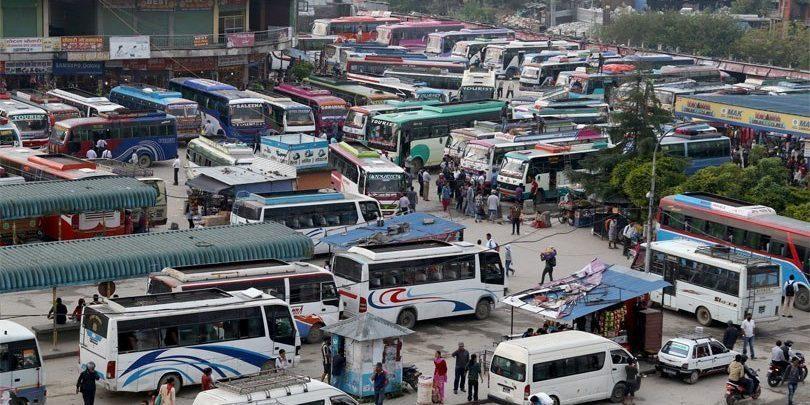 भोलिबाट सार्वजनिक यातायात सञ्चालन गर्ने यातायात व्यवसायी महासङ्घको घोषणा