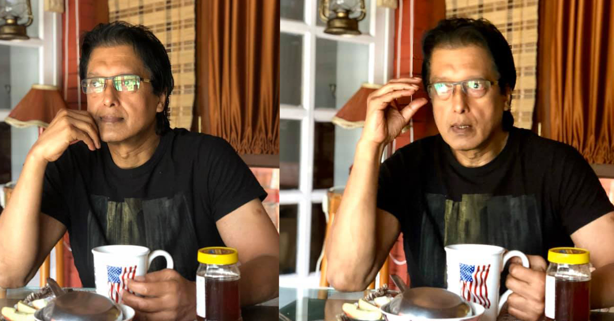 राजेश हमालले कोरोना प्रभावित चलचित्र प्राविधिकलाई ५ लाख सहयोग गर्दै