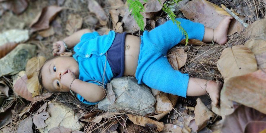 भारतवाट फर्किदा २८ दिनको शिशु जंगलमा फाले, अनि घर गए बाबु आमा !