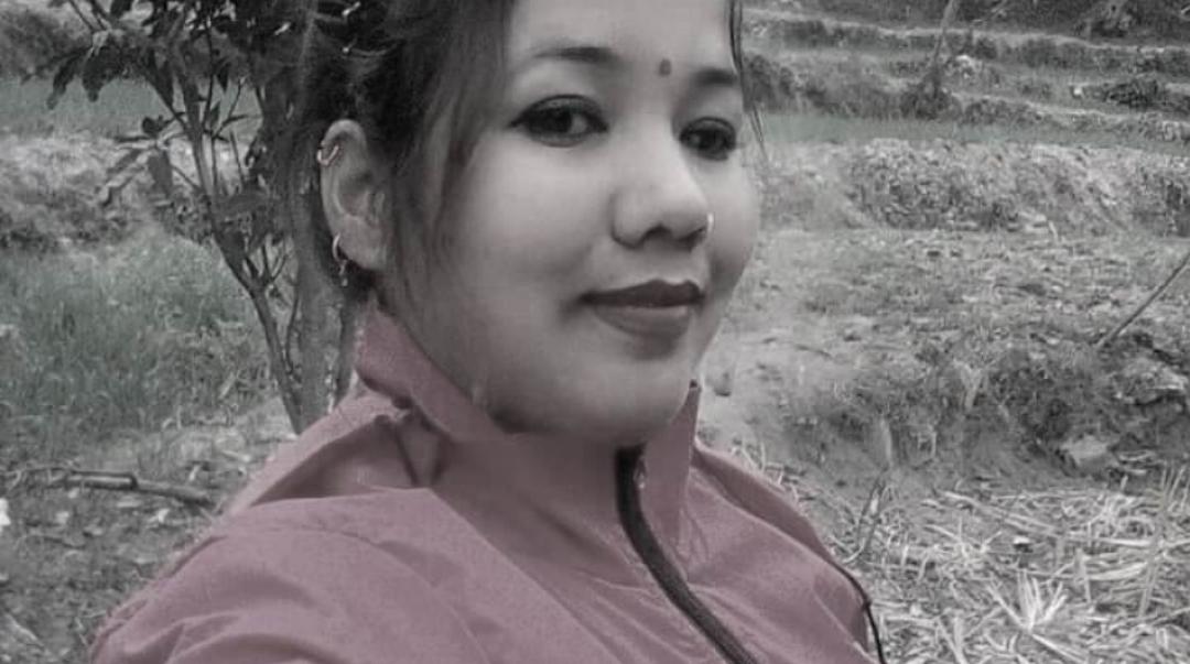 बाख्रा चराउन गएकी २८ वर्षीया शारदाको भिरबाट लडेर मृत्यु