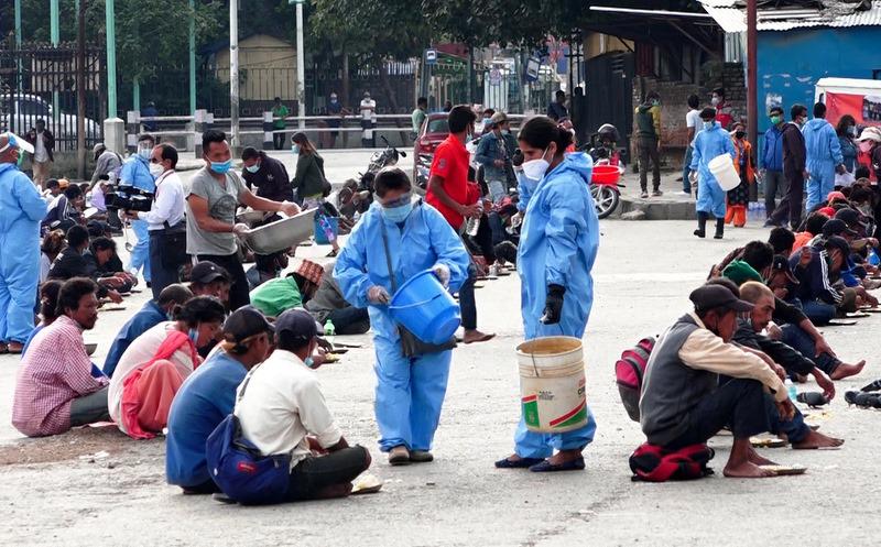 काठमाडौ महानगरले बन्द गर्यो नि:शुल्क खाना अभियान