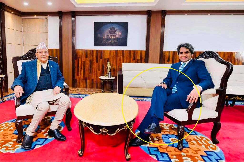 प्रधानमन्त्री ओलीले दिए भारतीय मिडियामा अन्तर्वार्ता, भने- नेपाल भारतको भाई हैन (लाईभ भिडियो)