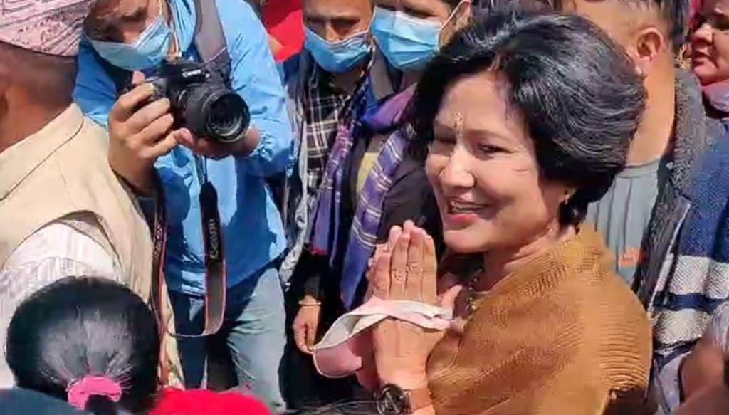 रघुजी पन्तविरुद्ध मुद्दा दायर गर्न कोमल वली  पुगिन् अदालत