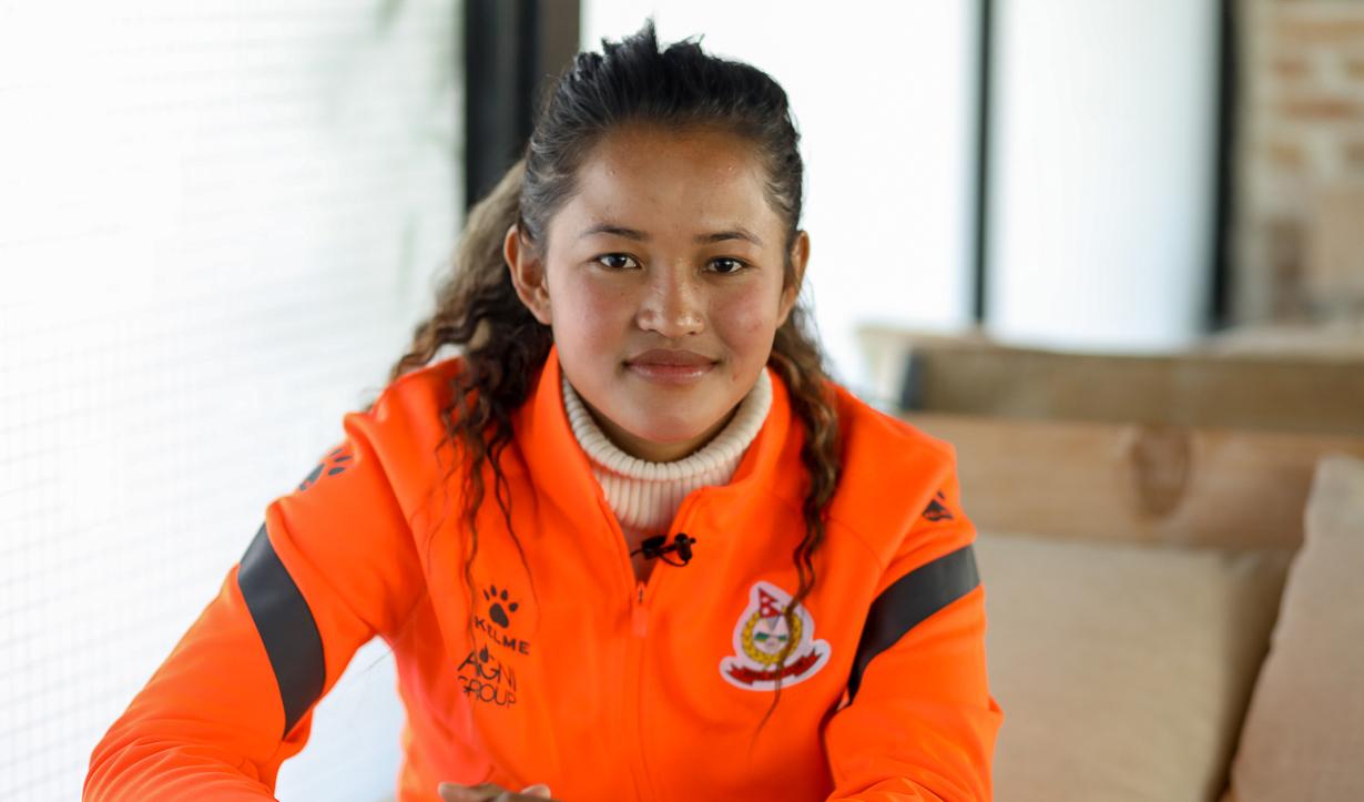 पाकिस्तान महिला फुटबल च्याम्पियनसिपमा सरु लिम्बुको १० गोल