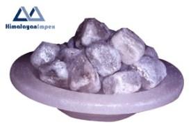 gray chunks in dish copy