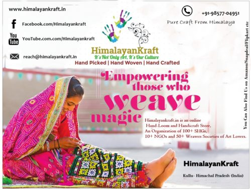 HimalayanKraft-True Name for Genuine Handloom and handicraft From Himachal