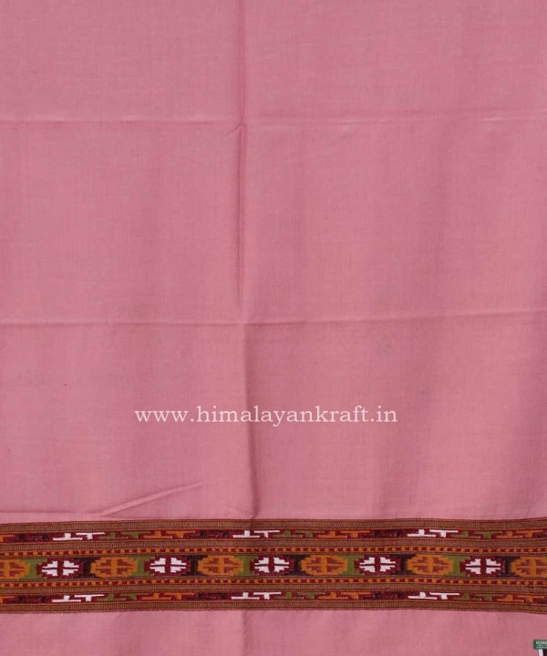 Stole Wrap Shawl Woolen Handwoven Floral Embroidery Himachal Handloom shawl stole-www.himalayankraft.in