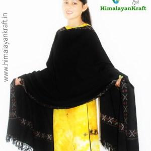 Purely Hand Woven Kullu Handloom Wool Shawls Online