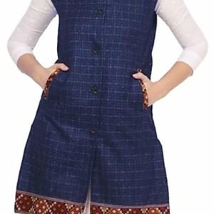 HimalayanKraft Kullu Woolen Winter Wear Long Jacket for Women, Girls