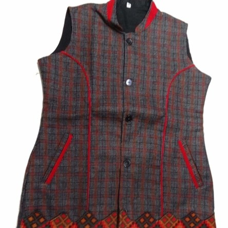 HimalayanKraft Kullu Woolen Winter Wear Jacket for Women, Girls