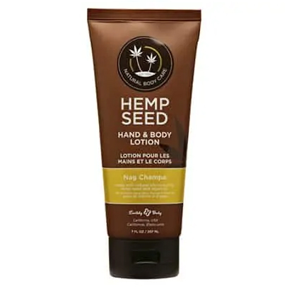 Earthly Body 7 oz Nag Champa Hand and Body Lotion