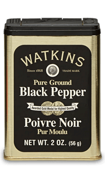 Watkins Black Pepper 2 oz