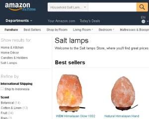 Where to buy himalayan salt lamp Amazon