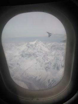 View of Nanga Parbat from PIA flight to Islamabad