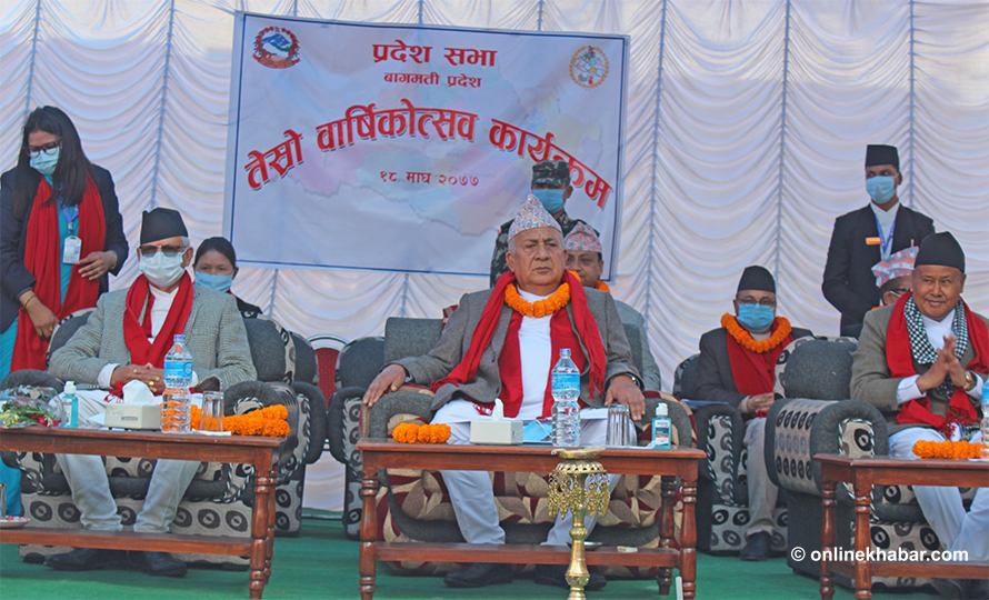 3 years of Bagmati Provincial Assembly: 59 Law making, Building construction incomplete