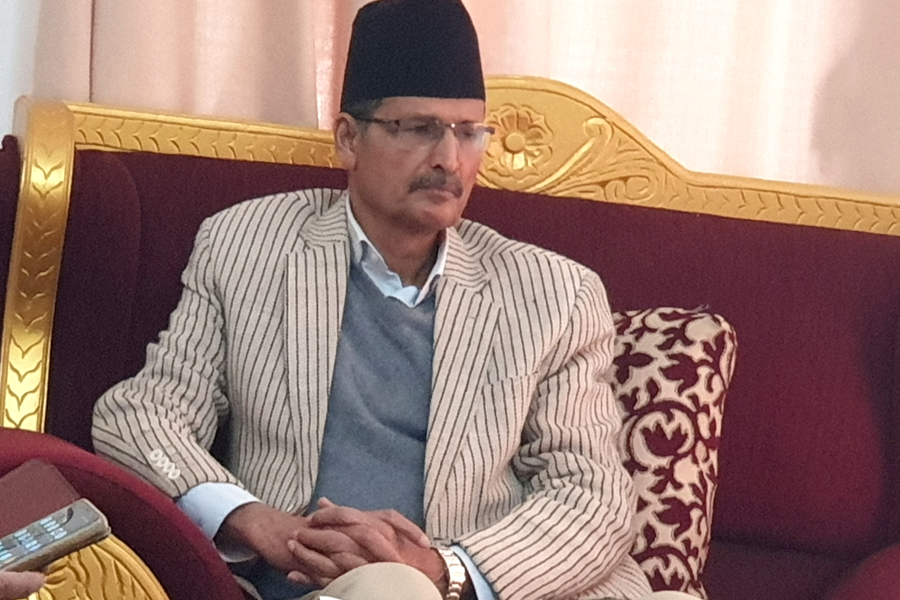 I asked for an appointment with the Prime Minister: Speaker Sapkota