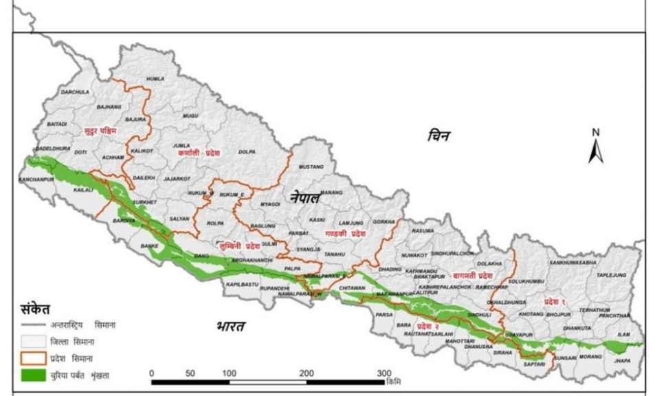 Possible major security challenges for Nepal in the coming decade