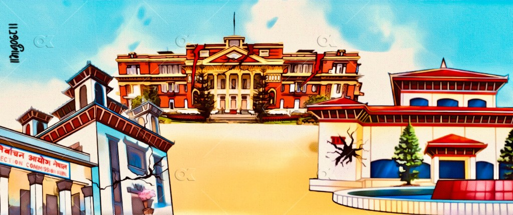Partisan officials are maligning the image of government institutions in Nepal