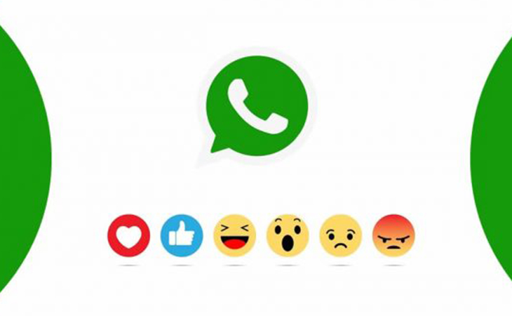 Like Facebook, now WhatsApp messages also have reaction feature