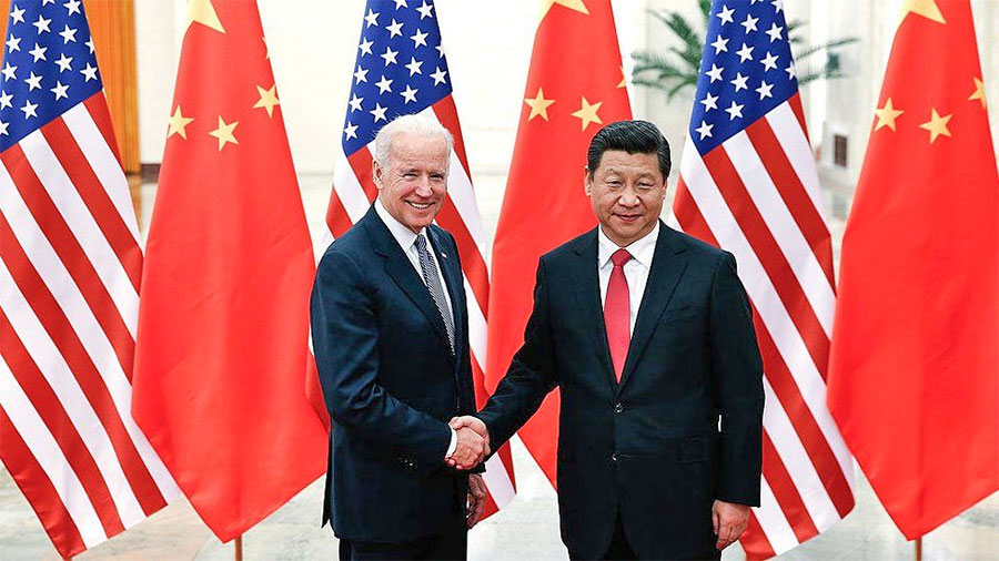 Phone conversation between Biden and Xi Jinping for the first time in seven months