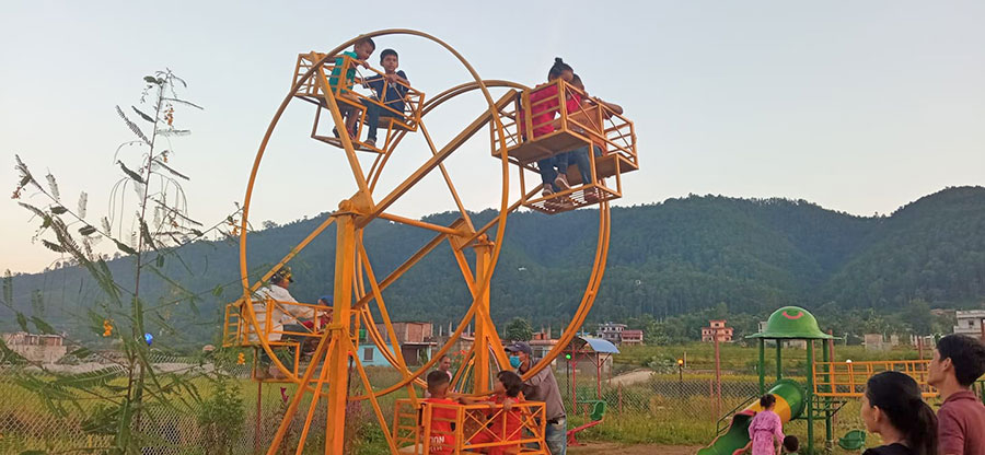 Fun Park opened in Rampur, Palpa, the home of domestic tourists