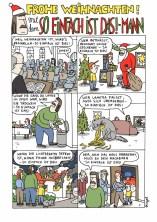 """Frohe Weihnachten mit dem """"So einfach ist das!""""-Mann."""