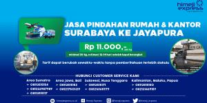 Jasa Pindahan Surabaya tujuan Jayapura
