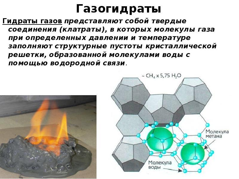 Газовые гидраты (клатраты)