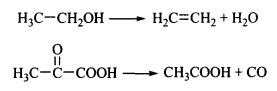 Классификация химических реакций реакции отщепления