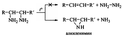 получение алкенов из диаминов получение алкиленимин