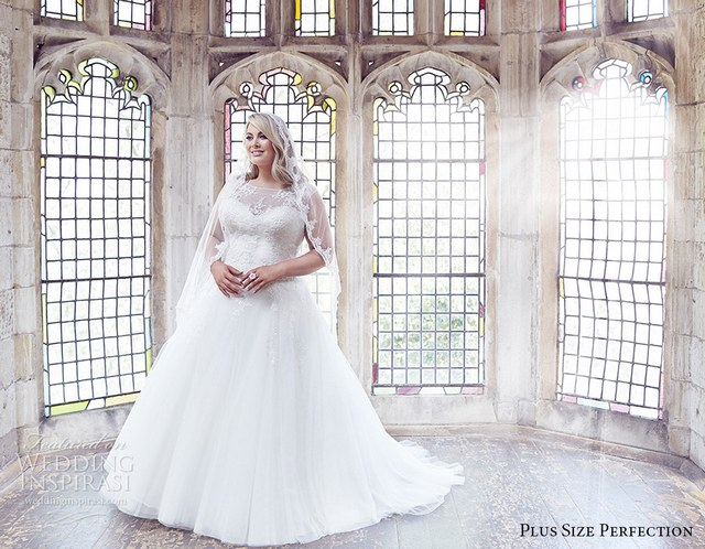 100 Gorgeous Plus-Size Wedding Dresses