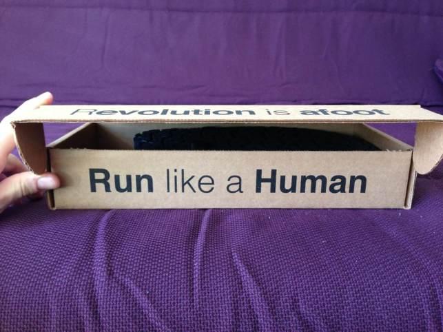 Rennen, nicht joggen