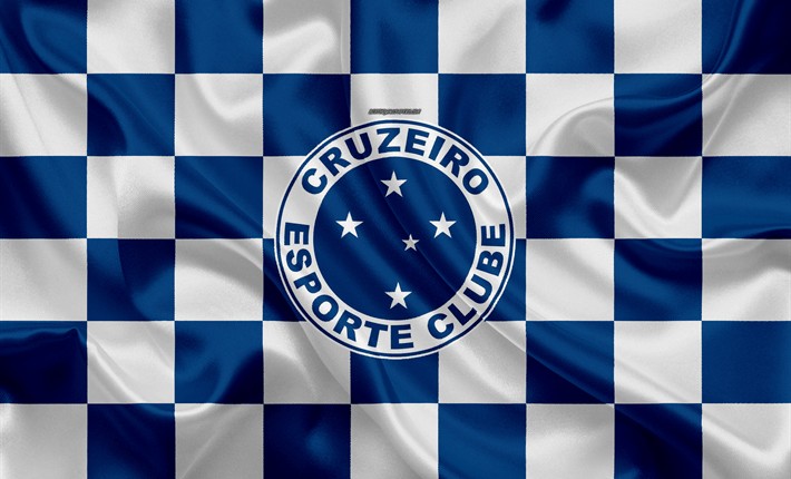 cruzeiro-fc-logo-creative-art-blue-white-checkered-flag-himnode.com