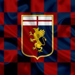 genoa-cfc-4k-logo-creative-art-red-blue-checkered-flag