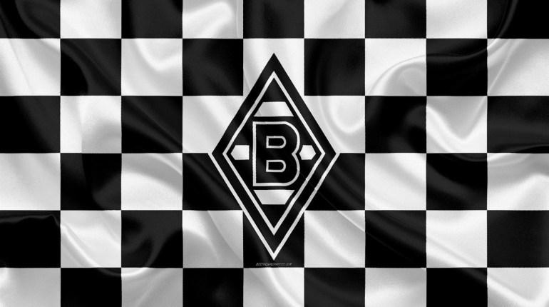 borussia-monchengladbach-4k-logo-creative-art-black-and-white-checkered-flag-himnode.com-letra-lyrics