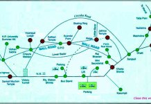 shimla tourist guide map