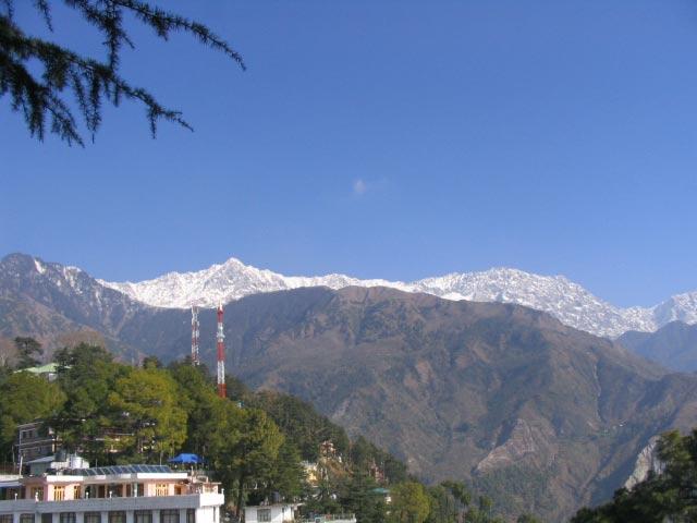 Dhauladhar-mountain