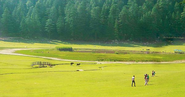 Khajjiar Lake - 10 best places to visit in Himachal Pradesh