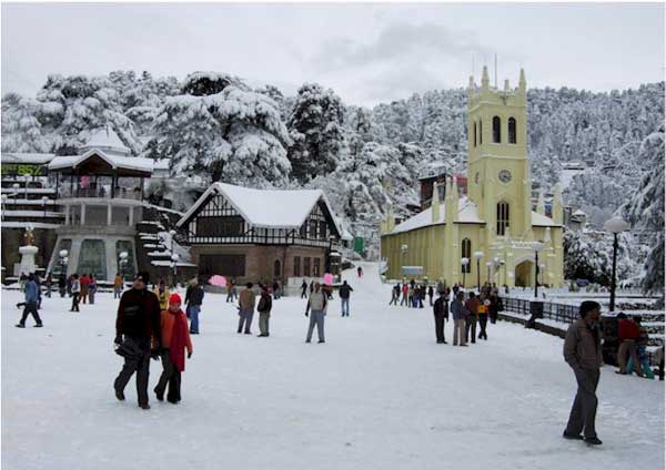 The Ridge, Shimla - 10 Best Places To Visit In Himachal Pradesh