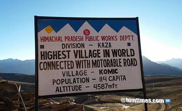 kaza-highest-motorable-town-in-himachal-pradesh