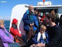 Ferð um Sundin í Reykjavík í maí 2005.