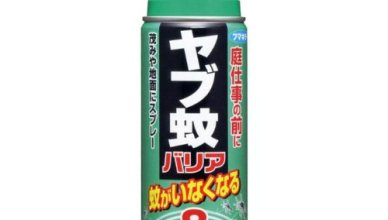 「やぶ蚊バリア」は母の超おススメ!野外作業に8時間効く(フマキラー)