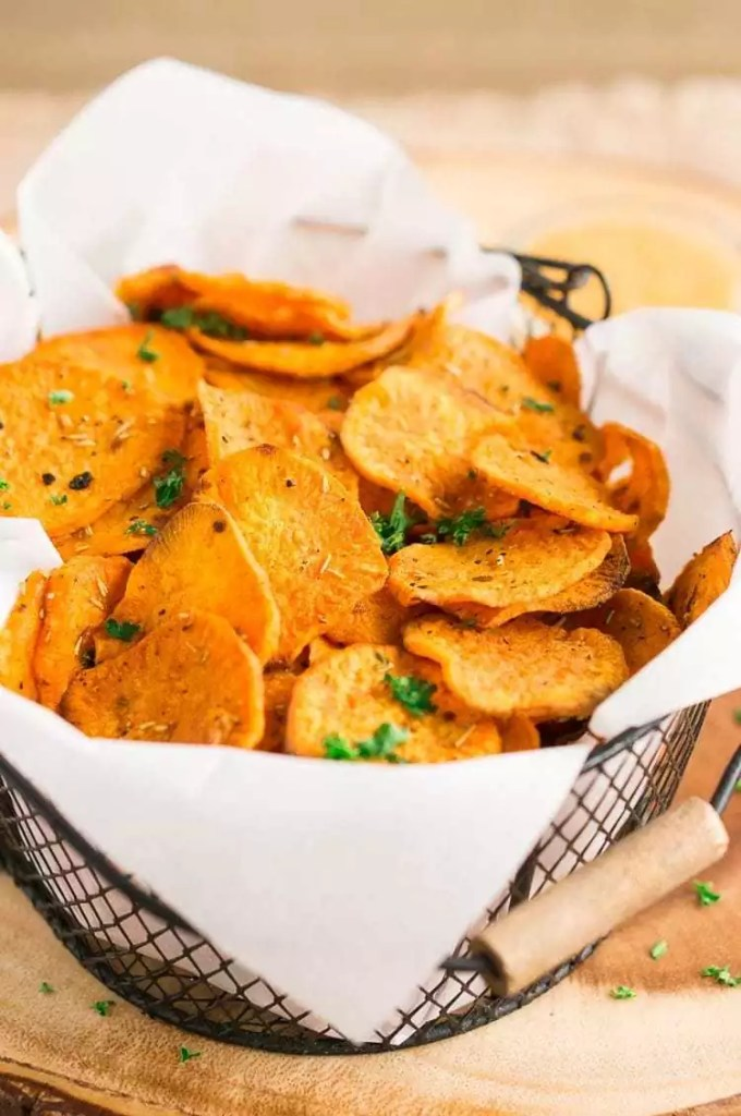 How to make sweet potato chips in oven