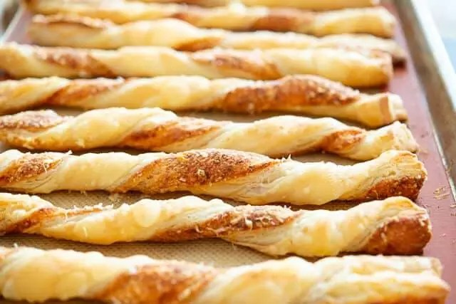 Puff Pastry Cheese Straws