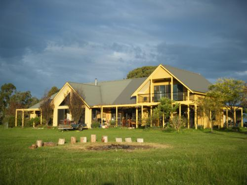Paul and Tamsyn's gorgeous house in Maffra